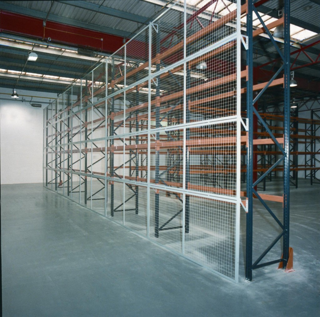 Anti Collapse Shelving Dsi Steel Partitioning